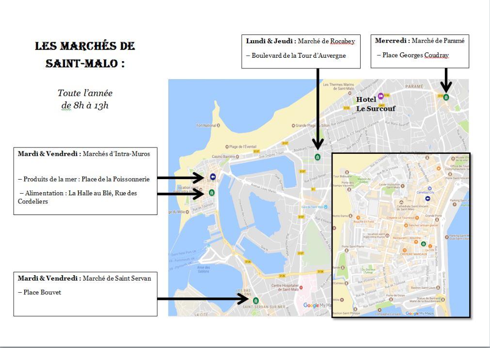 The many markets of Saint Malo - Hotel Saint-Malo | Brit ...
